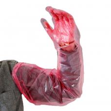 Перчатки ветеринарные (до плеча)